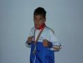 MIHU CONSTANTIN 14 ani 1 medalie aur