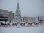 Oraşul Rovinari iarna