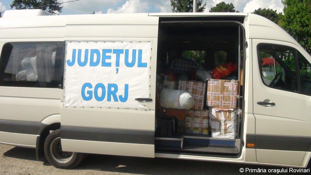 Ajutoare sinistrati Moldova