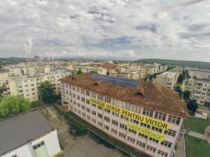 panouri solare scoala gimnaziala nr 1