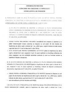 INFORMAŢII PRIVIND CONCEDIU DE CREŞTERE A COPILULUI STIMULENTUL DE INSERŢIE_Page_1